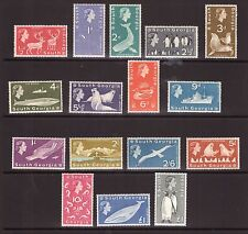 SOUTH GEORGIA QEII 1963 set SG1/16 superb MNH condition.