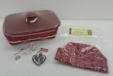 Longaberger 2011 Sweetheart Key To My Heart Basket Combo Valentine's Retired