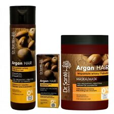 Hair Shampoo Mask and Oil Rebulding Damaged Hair Argan Oil Keratin Dr Sante