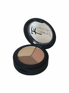 IT Cosmetics Hydrating Shadow Trio Luxe PRETTY IN SPRING & Dual Shadow Brush