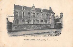 CPA 17 CHATELAILLON LE PENSIONNAT RUE DE COGNAC (cliché pas courant