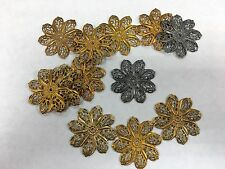 15 metal shapes fancy for assemblage art Steampunk