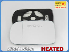 Wing Mirror Glass BMW SERIES 7 E38 1994-2001 Wide Angle HEATED Left Side #B017