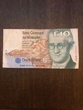 Bank Of Ireland £10 Note James Joyce Series Circulated Condition
