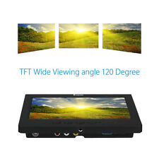 "7"" LCD HD 1024x600 Video Audio HDMI Monitor Display for CCTV Camera DVD PC"
