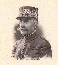 Portrait Maréchal Ferdinand Foch Tarbes Hautes-Pyrénées Première Guerre Mondiale