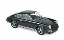 NOREV Porsche 911 S 1973 Echelle 1:18 Voiture Miniature - Noire