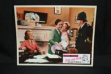 Just My Luck Lobby Card - Norman Wisdom - British Sports Comedy (C-8) 1957