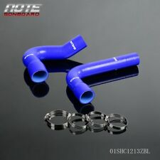 For 1967-1970 FORD MUSTANG/FALCON/FAIRLANE V8 Silicone Radiator Hose Kit Blue