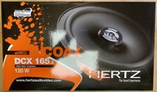 Hertz Dieci DCX165.3 6.5' 120W Coaxial Speakers