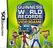 Nintendo DS DSi Lite Guinness World Records The Video Game (GAME CARTRIDGE ONLY)