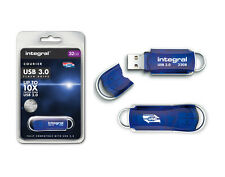 Integral Courier 32GB High Speed USB 3.0 Flash Drive - 10X Faster than USB 2.0