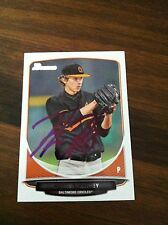 Hunter Harvey 2013 Bowman Rookie Card Authentic Autograph Signed InPersn Orioles