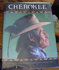 CHEROKEE Photo-Essay NATIVE AMERICANA Robert Conley 2002 FREE US SHIPPING Look!