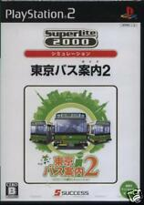 TOKYO BUS Guide 2 PS2 Import Japan
