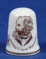 James Clerk Maxwell 1831-1879 China Fingerhut B / 44