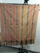Indonesian Ikat Cloth, hand woven, shoulder cloth, Classic Vintage Design