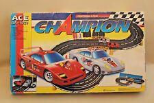 Circuit voiture électrique Champion ACE BA-1020 F40 et Porsche 959 sous blister