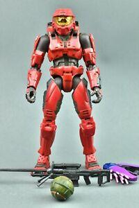 Halo 2 Red Spartan Joyride Action Figure