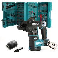 Makita DHR171Z 18V Cordless SDS+ Rotary Hammer Drill With Makita P-44046 & Chuck