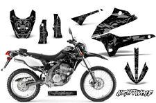Dirt Bike Graphics Kit Decal Sticker Wrap For Kawasaki KLX250 2008-2018 NW SLVR