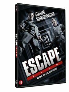 DVD - ESCAPE PLAN  (2013)  STALLONE - SCHWARZENEGGER (NEW / NIEUW / SEALED)