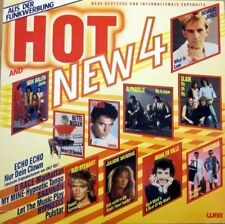 Hot and New 4 (1984) Alphaville, Gazebo, Rod Stewart, Van Halen, Righeira.. [LP]