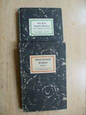 Werner Kortwich - Max Eyth, Insel-Bücherei 1934 und 1927