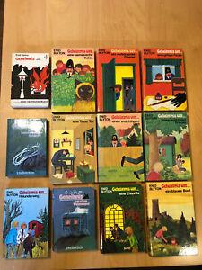 Geheimnis um .. 12 Bücher, Band 1-5+7-9+11+13-15, Enid Blyton, Tosa Verlag u.a.