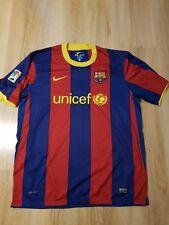 Nike FC Barcelona HOME shirt jersey Blaugrana 2010-11 trikot adult SIZE XL