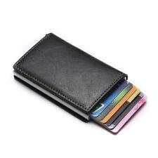 ZOVYVOL Man Women Aluminum Metal Mini Business Card Holder Smart RFID Wallet