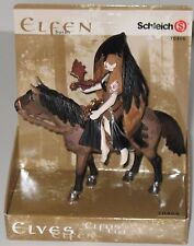 Schleich Elfen Surah Elf Vinyl Toy Figure with Horse Dragon on Arm 70406 NEW