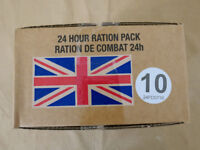 Menue #10 GB ARMY 24 Hour Combat Ration MRE EPA SURVIVAL Notration Verpflegung