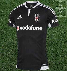 Besiktas Third Shirt - Mens - adidas Turkish Football Jersey - All Sizes