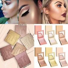 6 Colors Beauty Freestyle Highlighter Makeup Face Bronzer Shimmer Contour Powder