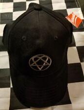 HIM H.I.M. Heartagram Black Cap New Official BRAVADO Rock Band Hat BAM MARGERA