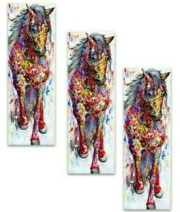 Wall Art Painting Horse Canvas Print Animal Picture Poster For Living Room Decor