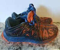 Adidas Youth size 5 Vigor Bounce Orange & Blue Athletic Trail Running Shoes