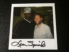 Leon Spinks Signed Polaroid Boxing Heavyweight Champion Photo Autographed Boxer