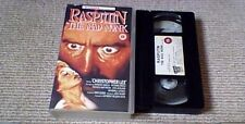 RASPUTIN THE MAD MONK CASTLE UK PAL VHS VIDEO 1991 Hammer Christopher Lee