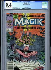Magik #4 (1984) Marvel CGC 9.4 OW/White Pages