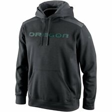 "Nike Oregon Ducks Shield Nailhead Pullover Dark GR ""Large"""