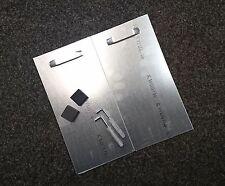 verdeckte Spiegelhalterung, Spiegelbefestigung bis 1,6qm mit Abstandhalter
