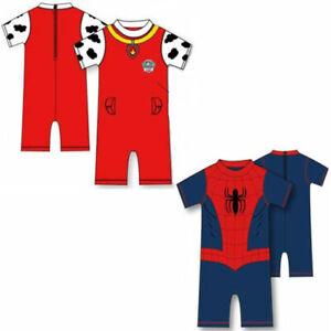 Spiderman Swimsuit UV Paw Patrol MLP SKYE