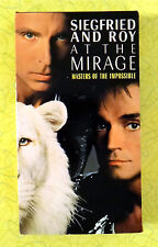 Siegfried and Roy at the Mirage Masters of the Impossible  VHS Movie Magic Video