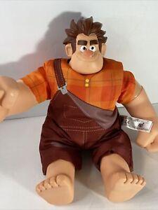"""Disney Wreck It Ralph Talking Toy 12"""" Wrecking Figure Ban Dia Working Talking Bg"""