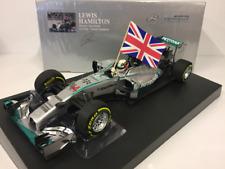 Minichamps modelo - 1/18 2014 Mercedes W05 Lewis Hamilton