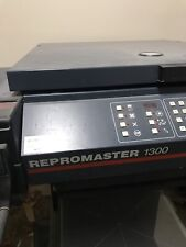 Agfa Repromaster 1300 Camera - Working