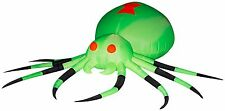 11 ft. Gemmy Airblown Inflatable Neon Airblown Giant Spider