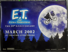 E.T.Extra-Terrestrial 2OTH Jubiläum 2002 Original 46X60 Subway Film Poster